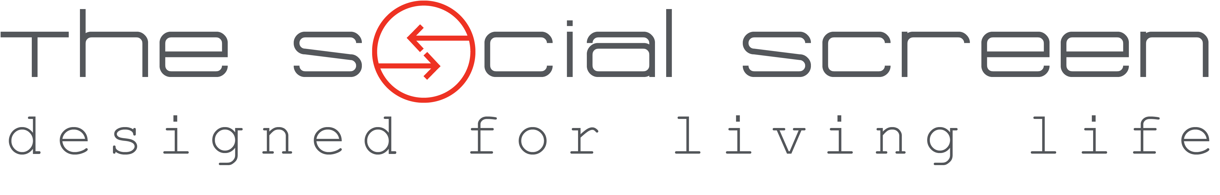 The Social Screen Logo